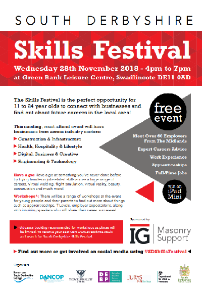 South Derbyshire Skills Festival