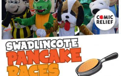 Swadlincote Pancake Race